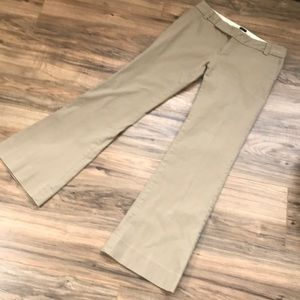 Gap Stretch Wide Leg Low Rise Pants - Size 6 Reg